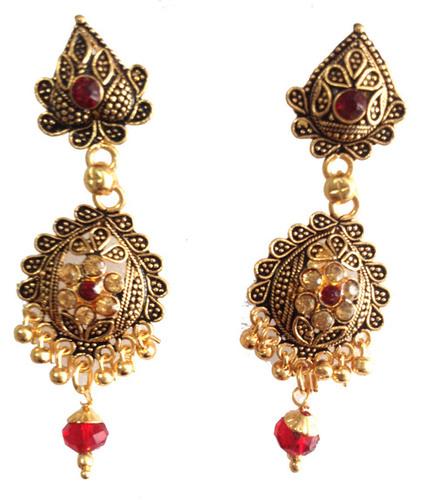 Inexpensive Jewelery - Imitation Gold Ear Rings
