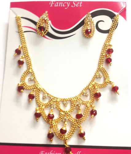 High End Imitation Jewelery-Gold Plated Set