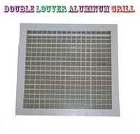 Double Louver Aluminum Grill