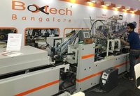 Folder gluing machine