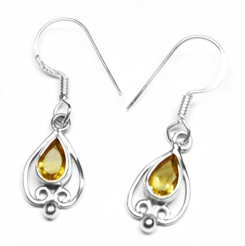 Citrine Gemstone Earring