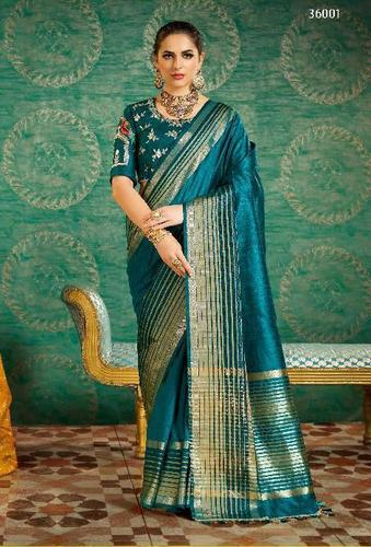634e6502a3714b Handloom cotton silk saree heavy work blouse - Handloom cotton silk ...
