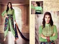 Light Green Fancy Embroidered Suit