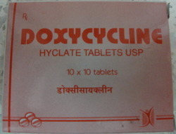 Doxycycline Dispersible Tablets/ Capsule 100mg