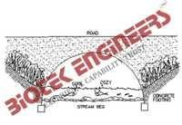 Road Culvert With Single Arch