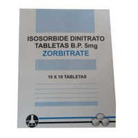 Isosorbide Dinitrato Tablets BP