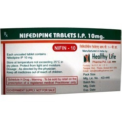 Nifedipine Cardiac Drugs