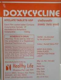 Doxycycline Dispersible Tablets