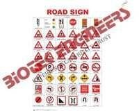 Road Signs Chart