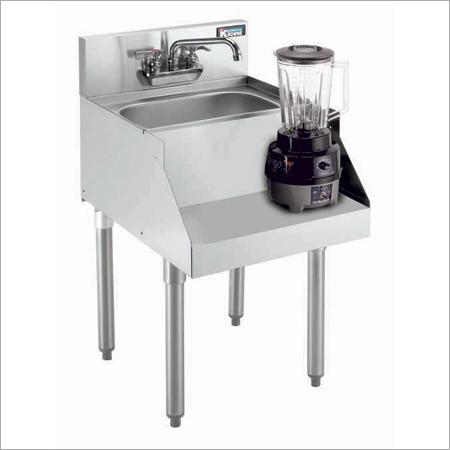 Blender Station With Sink tap