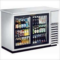 Two Door Back Bar Chiller