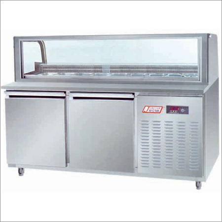 Undercounter Refrigerator with Salad Counter