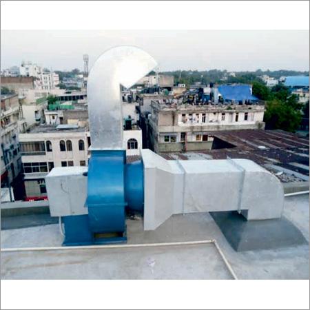 Exhaust Fresh Air Ducting