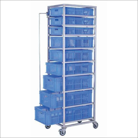 Rack Serving Trolley