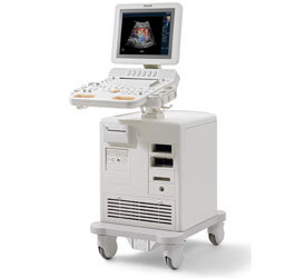 Refurbished Philips HD7 Ultrasound Machine.