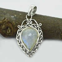 Rainbow Moonstone Gemstone Pendant