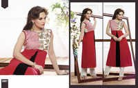 Attractive Red Kurti