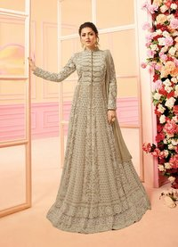 Maisha Quinn Sonal Chauhan in Raw Silk Salwar Suit