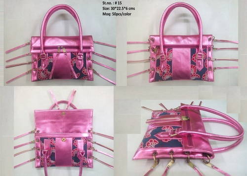 Fashion Ladies Pink Bag