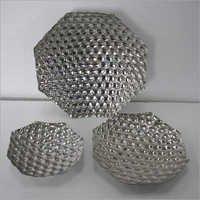 Metallic Serving Trays