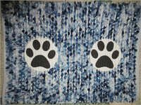 Dog Paw Printed Floor Mats