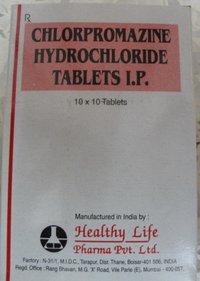 Chlorpromazine Hydrochloride Tablets USP 25 mg