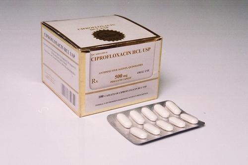 Ciprofloxacin Dispersible Tablets
