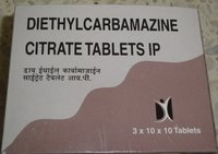 Diethylcarbamazine Citrate Tablets IP 50 mg
