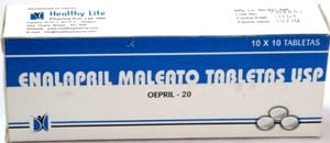 Enalapril Maleate tablets IP 10 mg
