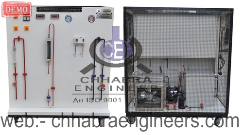 HEAT PUMP WITH DUAL MODE EVAPORATOR