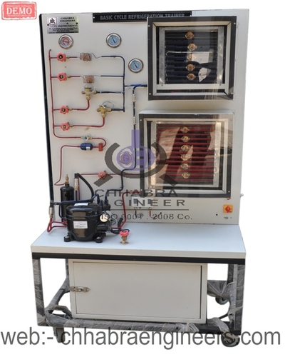 BASIC CYCLE REFRIGERATION TRAINER
