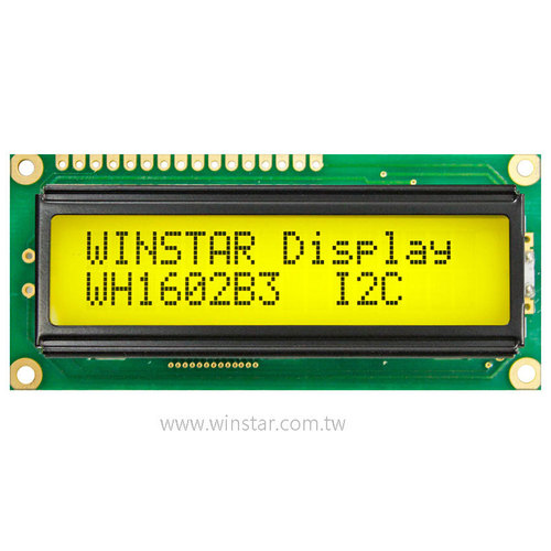 16x2 Character LCD Module