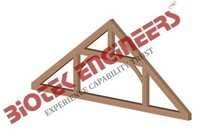 Queen Post Truss Mode