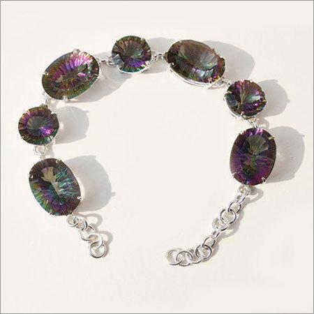 Mystic Topaz Gemstone Bracelete