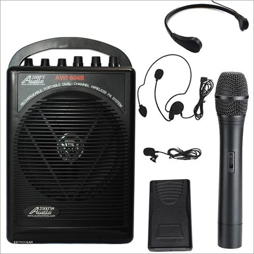 Mini Public Address System