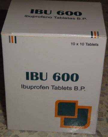 Ibu - 600 (Ibuprofen Tablets BP)