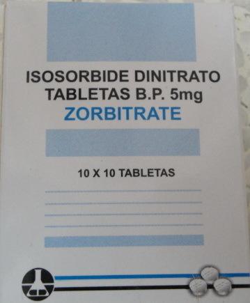 Isosorbide Dinitrate Tablets Ip 10 Mg