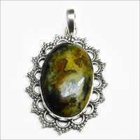 Rain Forest Opal Gemstone Pendant