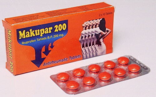 Makupar - 200 (Ibuprofen Tablets BP)