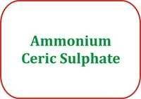 Ammonium Ceric Sulphate