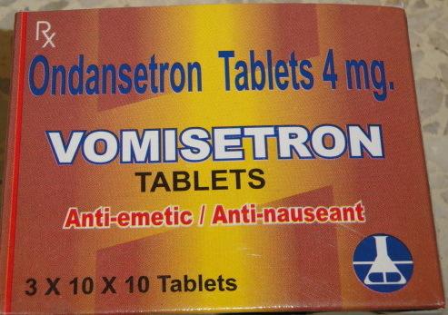 Nausedon  4  (Ondansetron Tablets 4mg)