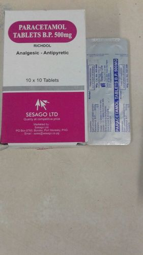 Paracetamol Tablets Bp