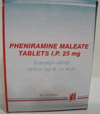 Pheniramine Maleate Tablets IP 25 mg
