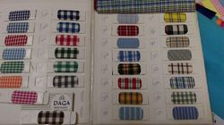 Uniform Checks Shirting Fabric
