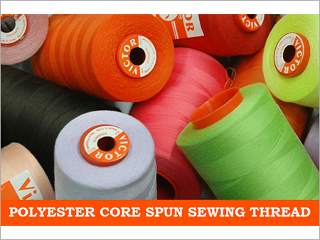 Polyster Core Spun Sewing Threads