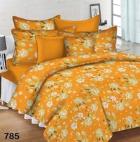 Printed Cotton Satin Bedsheet