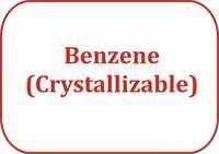 Benzene (Crystallizable)