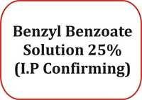 Benzyl Benzoate Solution 25% (I.P Confirming)