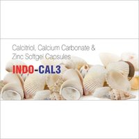 Calcitriol, Calcium Carbonate & Zinc Softgel Capsules