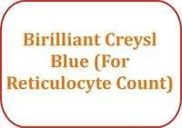 Birilliant Creysl Blue (For Reticulocyte Count)